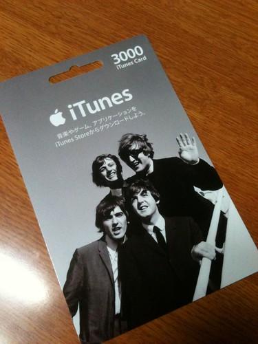 iTunesカード 3000円分