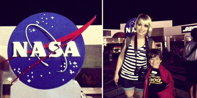 Becky and Eli at NASA