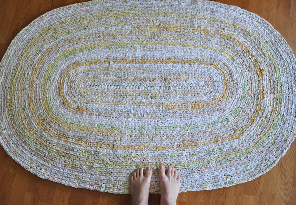 Big Oval Custom Ordered Crochet Rug