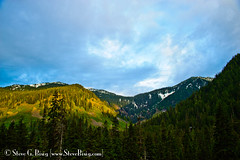 Cascade Valley Sunrise - Snoqualmie Pass, Washington