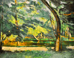 Paul Cézanne - L'Etang Des Soeures, Osny, 1875 at The Courtauld Art Gallery at Somerset House London England (mbell1975) Tags: uk england house london art museum painting paul gallery museu britain great somerset musée des musee m national gb impressionism british museo impression impressionist muzeum cezanne courtauld cézanne müze letang soeures osny museumuseum