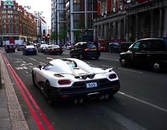 R (BenGPhotos) Tags: white london car r supercar v8 spotting matte koenigsegg 555 hypercar worldcars agera