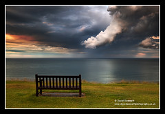 Dragon Cloud (Dave Dummett) Tags: sea weather clouds dragon seat yorkshire stormy whitby westcliff