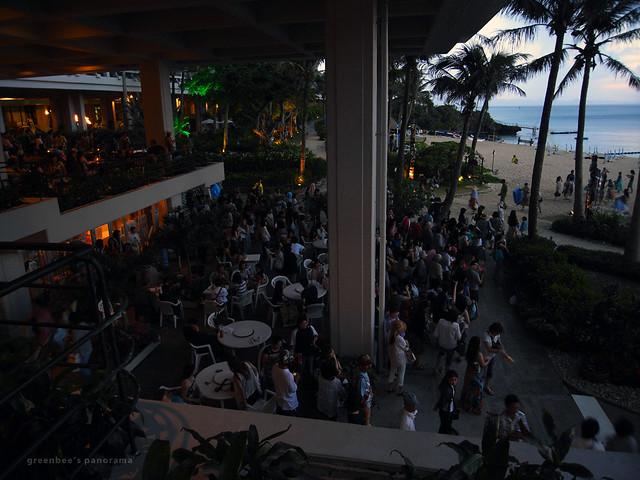 最終日夜のステージ4(ムーンビーチ・ルアウ2011)