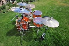 Amber Ludwig Vistalite big beat drum set resurrection (Mr. Freek) Tags: amber drumset tama ludwig sabian vistalite geo:lat=49494657998903314 geo:lon=11962665995131226