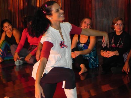 Sabrina e sua dança by Silvana Abreu