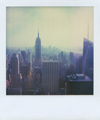 (jeffreywithtwof's) Tags: nyc newyorkcity film 2004 jeff analog polaroid sx70 1 rockefellercenter integral instant empirestatebuilding alpha hutton expired topoftherock timezero lookingsouth jeffhutton jeffhuttonphotography roidweek2011 jeffreyhutton