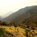 Vila de Ghara. A paisagem mudou novamente