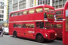 Arriva London RM6 (VLT 6) Oxford Street 2/3/02 (jmupton2000) Tags: london buses transport routemaster rm arriva aec rml vlt6