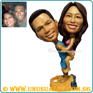 Personalized 3D Lovely Couple Figurines