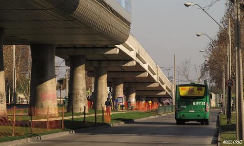 Avenida Pajaritos - Línea 5 Metro de Santiago | Avenue Pajaritos - Line 5 Metro of Santiago