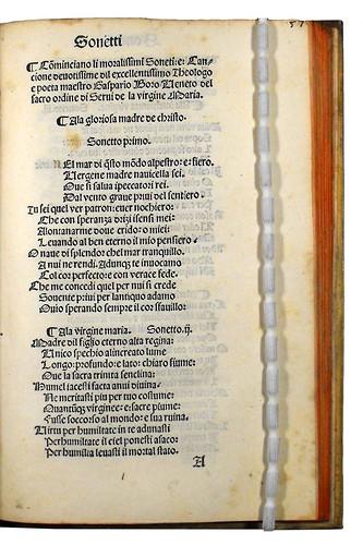 Variant in Borro, Gasparino: Trionfi, sonetti, canzoni e laude della Vergine Maria