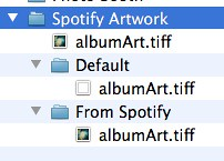Spotify artwork folders