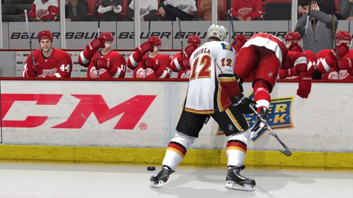 NHL 12 Will Allow You To Fight The Goalies and Keep Your Balance