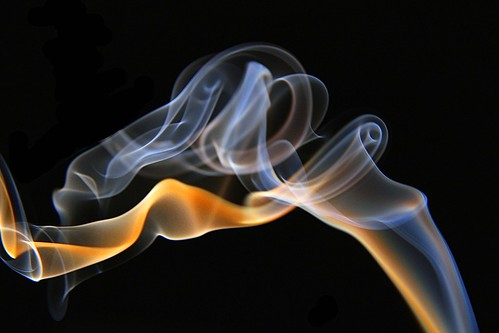 Smoke photography / flame..