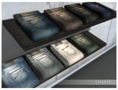{Zaara} Classic Jeans colors