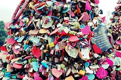 Locks with Wishes @ Namsan Tower (plenty of flour) Tags: korea seoul southkorea   namsantower  nseoultower