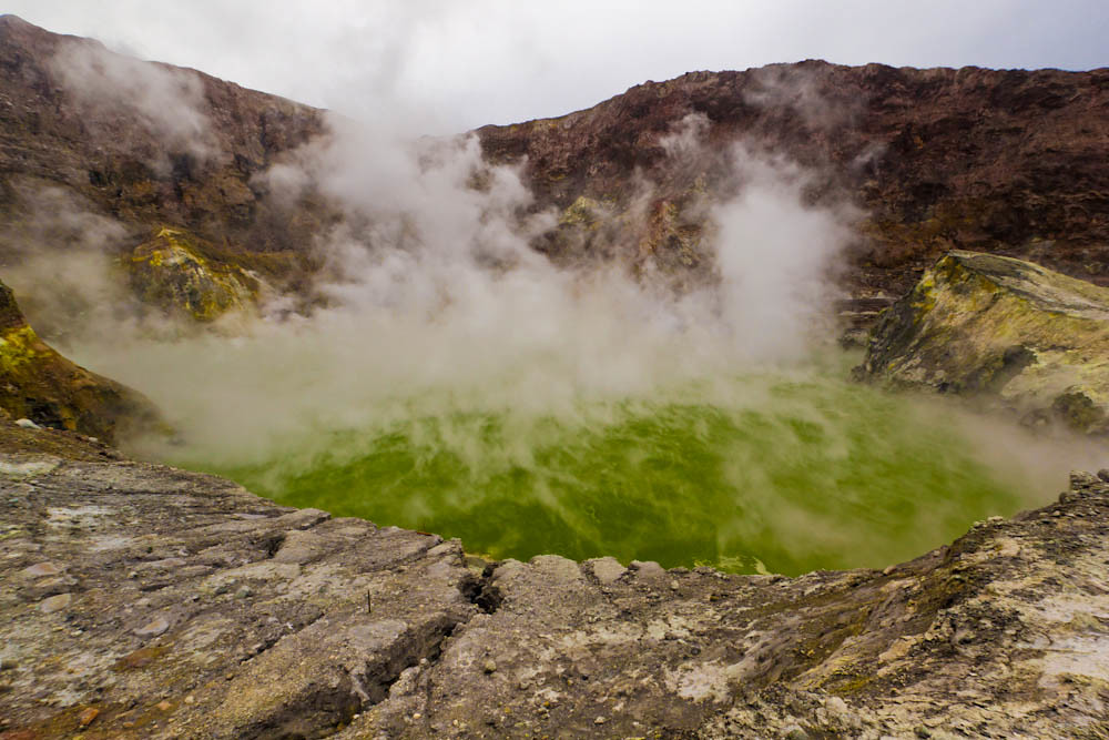 Cráter Volcán