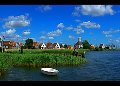 51 mega pixels of Durgerdam (kees straver (will be back online soon friends)) Tags: houses house lake holland water netherlands dutch grass amsterdam bike clouds canon landscape boat spring europe village nederland thenetherlands dijk dike durgerdam ijburg noordholland waterland ijmeer 51megapixels durgerdammerdijk keesstraver 5dmarkii