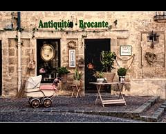 Brocante shop (Focusje (tammostrijker.photodeck.com)) Tags: old france shop market stroller montpellier retro antiques flea brocante pram antiquites