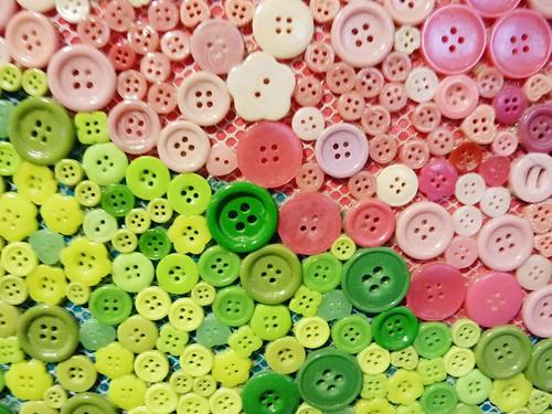 HongKong。青衣城 X 海洋鈕扣壁畫