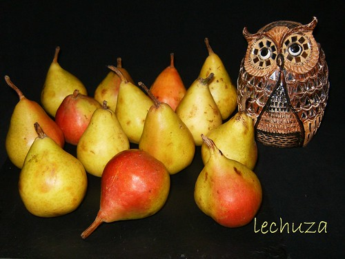 Tarta de peras-peras
