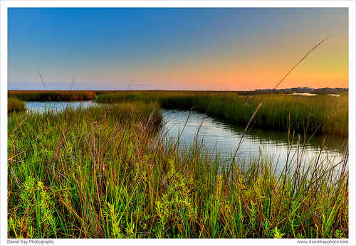 Bayou Vista Sunset 4 by Daniel Ray