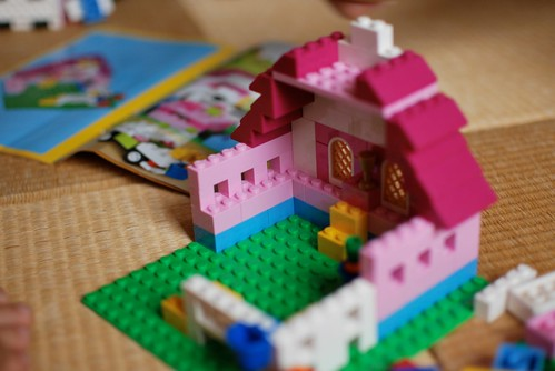 LEGO PINK HOUSE