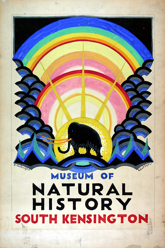 6. Artwork - Museum of Natural History © TfL from the London Transport Museum