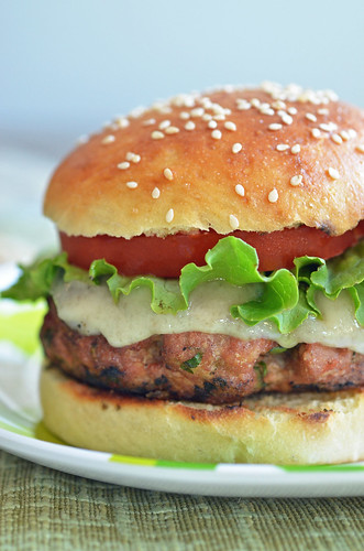Almond Turkey Burger1