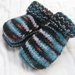 6-12mo 'Ravens of Tower Hill' Booties *5% off*