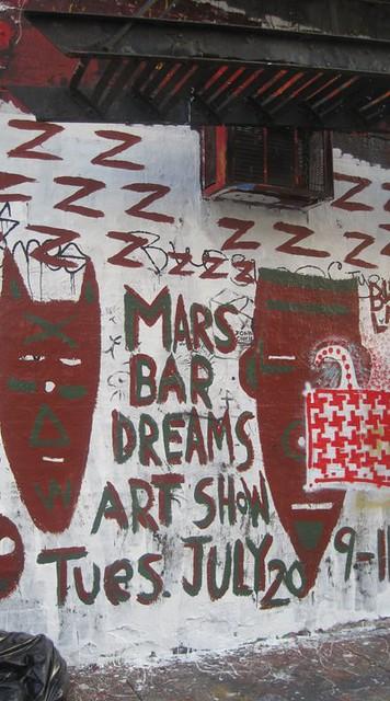 Mars Bar Mural - July 27, 2010
