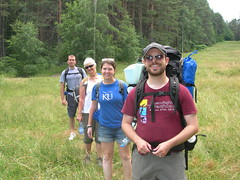 Hike to the camp site