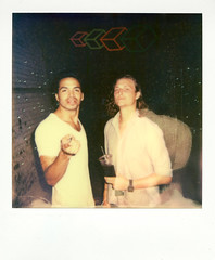 Russell & CMART (rememberpaper) Tags: party brooklyn project magazine paper polaroid hardware remember release crest impossible