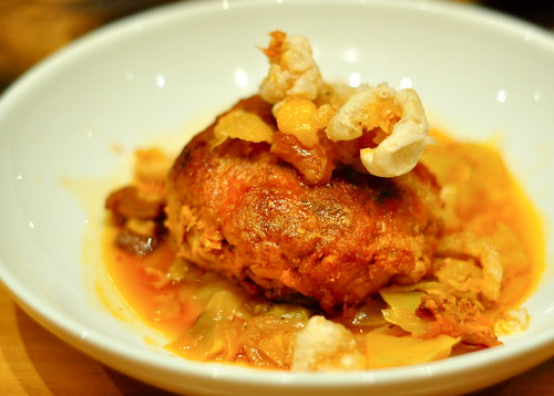 Louisiana Cochon with Turnips, Cabbage, & Cracklins