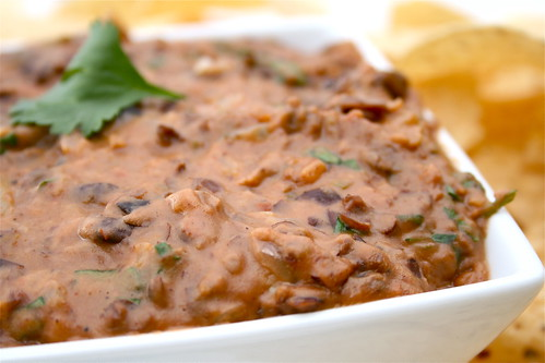 Warm & Spicy Black Bean Dip
