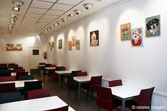 de perrunos (retales botijero) Tags: art arte pop retratos perros javier pintura exposicion castellon retales perruna botijero enlagaleriarestaurantshowroom