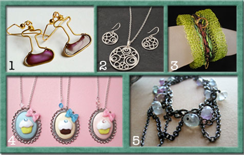 Funky Five: Jewelry Designs