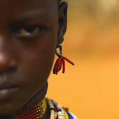 Hamer girl Earrings - Omo Ethiopia (Eric Lafforgue) Tags: beads focus dof artistic culture tribal ornament tribes bodypainting tradition tribe ethnic rite tribo adornment pigments ethnology tribu eastafrica thiopien etiopia perles ethiopie etiopa 2933  etiopija ethnie ethiopi  etiopien etipia  etiyopya  nomadicpeople 02933         peoplesoftheomovalley