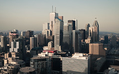 scenes from the skies (tomms) Tags: city urban toronto ontario canada skyline downtown highrise metropolis core skyscrapper verticallandscapes