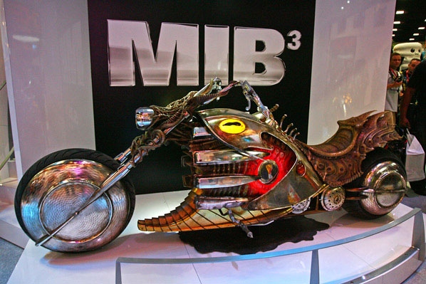 Preview Night: MIB3 Display at SDCC 2011