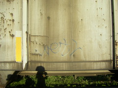 Meth (sp0iledgoods) Tags: train graffiti down graff stomp meth freight sdk killas