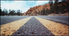 road near bryce canyon (eriol_LZ) Tags: road usa pinhole bryce