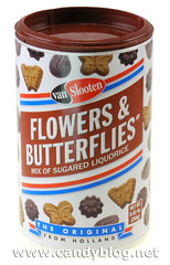 Van Slooten Flowers & Butterflies Mix of Sugared Liquorice