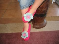 knitted candy slipper/socks (Yuli handmade) Tags: socks crochet slippers knittedsocks bedsocks crochetsocks knittedslippers crochetslippers