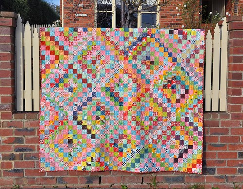 DS Quilt finished - front