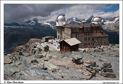 Gornergrat planetarium (Ilan Shacham) Tags: house snow mountains alps building beautiful landscape outdoors switzerland rocks view scenic gornergrat planetarium zermatt matterhorn