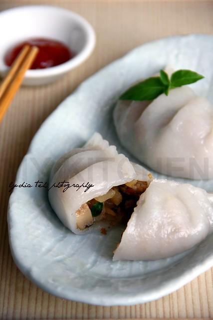 Steamed Veggie Dumpling