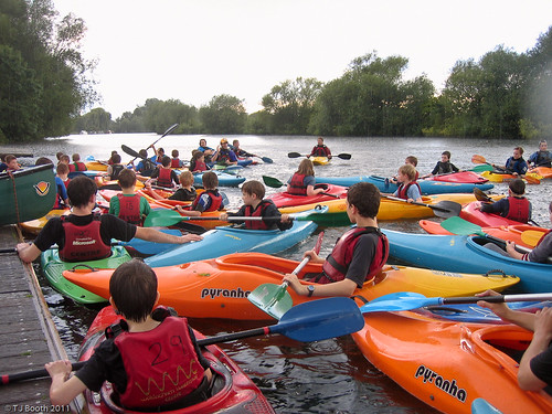 1st Finchampstead - Cub Scout Canoeing & BBQ
