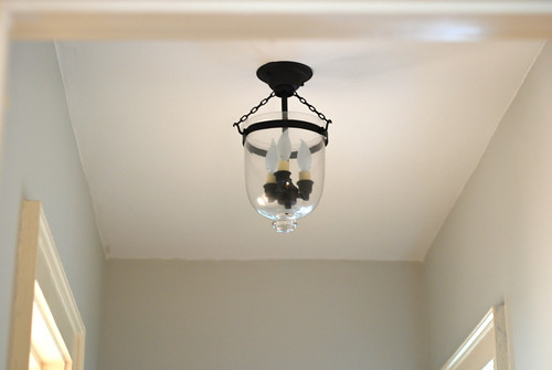new hall light fixture 2